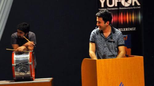 Yeditepe üniversitesi İnteraktif ritim & vokal gösterisi
