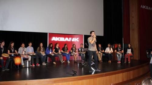 Akbank İnteraktif Ritim & Vokal Gösterisi